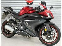 2018 68 YAMAHA YZF-R125 ABS RED LEARNER LEGAL TRADE SALE PROJECT NOISY ENGINE 8K