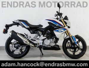2018 BMW G310R - BRAND NEW - Pearl White Metallic