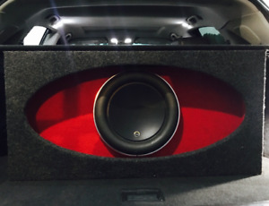 JL Audio 12W7AE Anniversary edition with HO Box  Car audio