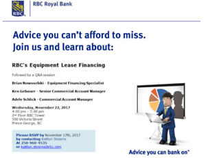 Business Advice Event- you can't afford to miss!