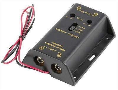 Fixapart Subwoofer Crossover RCA Conversion Module Box (High, Medium /Low Level)