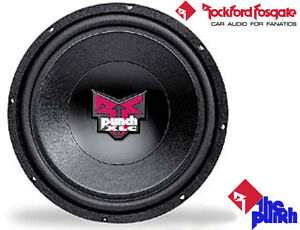 "12"" 4-ohm Subwoofer ~ Rockford Fosgate Punch"