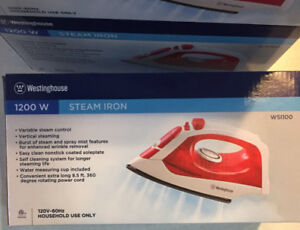 BRAND NEW - Westinghouse 1200W Steam Iron  - 10 Available