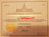 Flooring Installer (Certified Journeyman)