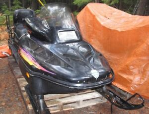 "1996 Skandic Wide Track 20"" 500 Fan Skidoo High/Low-Rev"