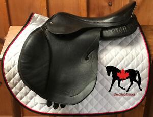 """17.5"""" Skidar Close Contact Saddle"""
