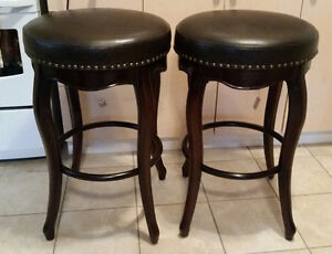 2 Wood Barstool's *New with Tags*