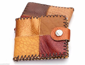Men's Patchwork Leather Wallet - NEW! Strathcona County Edmonton Area image 1