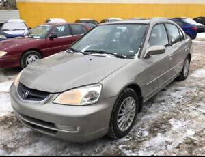 2003 ACURA EL FULLY LOADED LEATHER HEATED SEATS 4 LITTER ENGINE