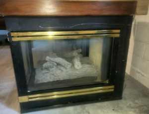 Heat n glo 3 sided fireplace for sale