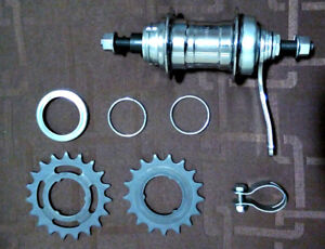 VELOSTEEL Singlespeed Coaster Brake Hub (Made in Czech Republic)