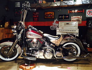 beautiful one of a kind Heritage Softail