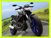 Yamaha MT125 ABS **LAST ONE!! NONE AVAILABLE TILL MARCH 2017!**