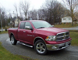 2011 Dodge Power Ram 1500 Big Horn Crew Cab 4 x 4 Pickup Truck