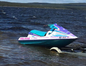 Seadoo and Double Trailer