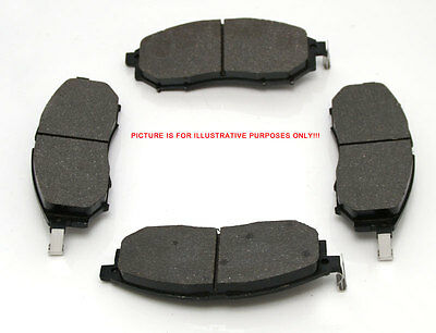 Front Brake Pads (4) For Mitsubishi L200 Pickup B40/KB4T 2.5TD/2.5DID 3/06-3/15