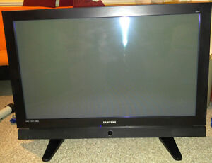 "42"" Samsung Plasma HDTV"