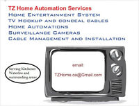 KW Home Entertainment System & TV Wall Mount