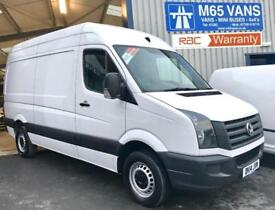2014 VW VOLKSWAGEN CRAFTER 2.0TDi (109PS) CR35 MWB MEDIUM WHEELBASE CHOICE OF 5