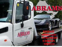 Abrams Seeks Flatbed, Light Duty & Light Service(Full Training)