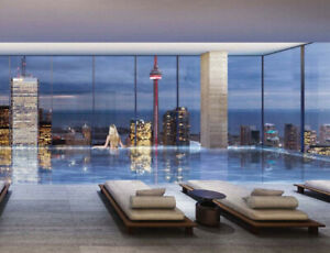 New Downtown Condo (7 Grenville) 2 bedrooms 2 Washrooms Parking