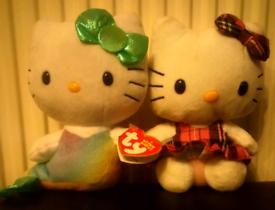 Ty Beanie Babies Hello Kitty