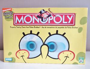 SpongeBob Squarepants Monopoly 100% Complete 2005