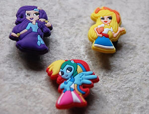 Croc shoe charms - Superheroes and My Little Pony West Island Greater Montréal image 1