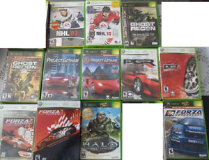 Old xbox and xbox 360 games