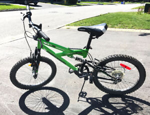 Momentum Supercycle Kids Bike Dual Suspension - Good Condition