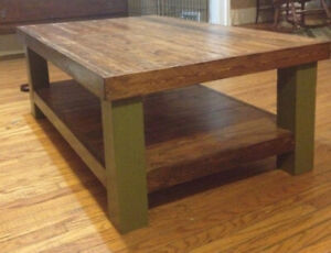 """hand made spruce coffee table 40"""" x 70"""""""