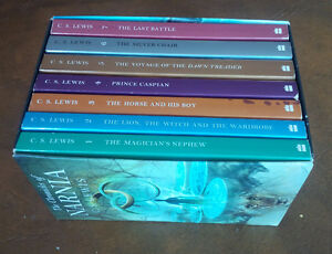 The Chronicles of Narnia, C.S. Lewis, 7-Book Set Kitchener / Waterloo Kitchener Area image 1