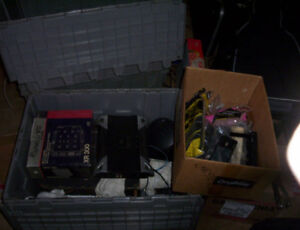 Big lot of car stereo equipt