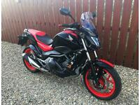 HONDA NC 750S DCT AUTO / MANUAL - JUST 4000 MILES + MANY FITTED EXTRAS MINT - PX