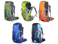 New  50L Hydration Backpack Camping Bags Travel Hiking wn