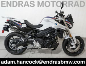 2017 BMW F800R - BRAND NEW - White / Blue / Red