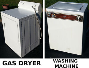 Kitchen Washing Machine or Gas Dryer for Small Apartment 60$ ea.