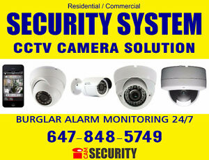 ALARM - CCTV SECURITY CAMERA - LCD-LED TV INSTALL