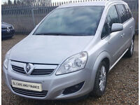 Vauxhall/Opel Zafira 1.7CDTi Elite GUARANTEED FINANCE payment between £40-£80 PW