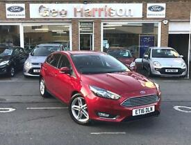 2016 MY Ford Focus 1.5TDCi 120ps Titanium - CANDY RED - LOW MILES!!