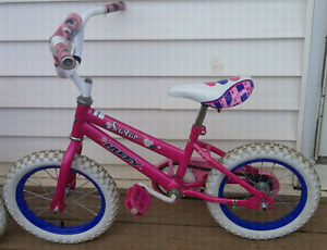 "14"" girls bike."