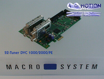 !!! NEU !!! DVC-S2-SAT-Tuner für DVC-1000/2000/PE !!! NEU !!!
