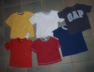 5 T-shirts, size 2 $ 6 for all, new underwear, size 2 - 4 $ 2 Kitchener / Waterloo Kitchener Area image 1