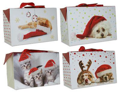 Geschenkboxen Weihnachten Taschenbox klein 18x18x9 Weihnachtstüten 22-0403-5  ()