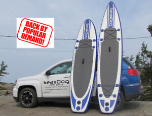 Inflatable Stand Up Paddle Board & Accessories - SUPER SALE!