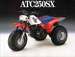 LOOKING FOR HONDA ATC 250R, 250 BIG RED, 250SX
