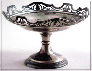 Antique sweets pedestal dish