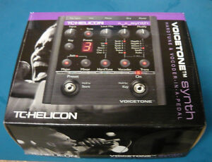 TC Helicon Voicetone Synth *NOS*