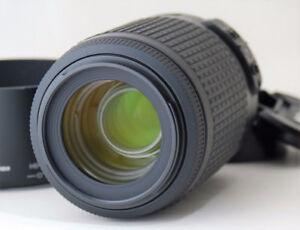 Nikon 55-200mm F4-5.6 VR lens