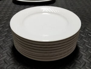 Bianca Scala Glossy By HUTSCHENREUTHER 9 Dinner Plates